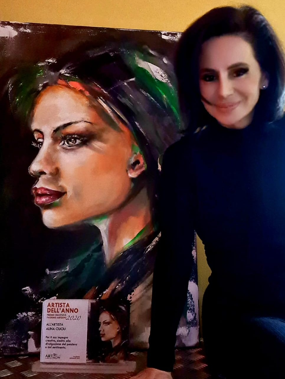 ArteDiAlina.com painting: Medea (and me)
